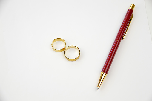 istock divorce paper with wedding rings 666974754