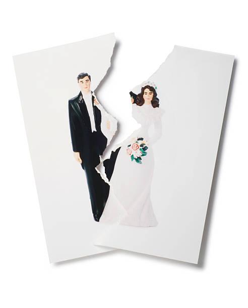 scheidung - hochzeitsbilder stock-fotos und bilder