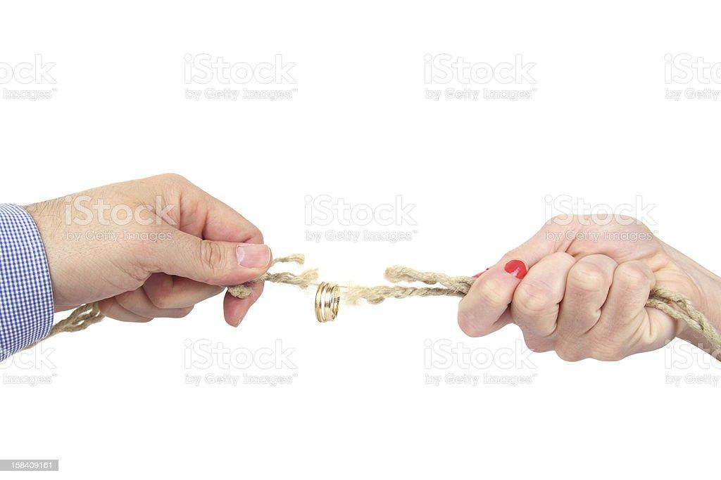 divorce stock photo