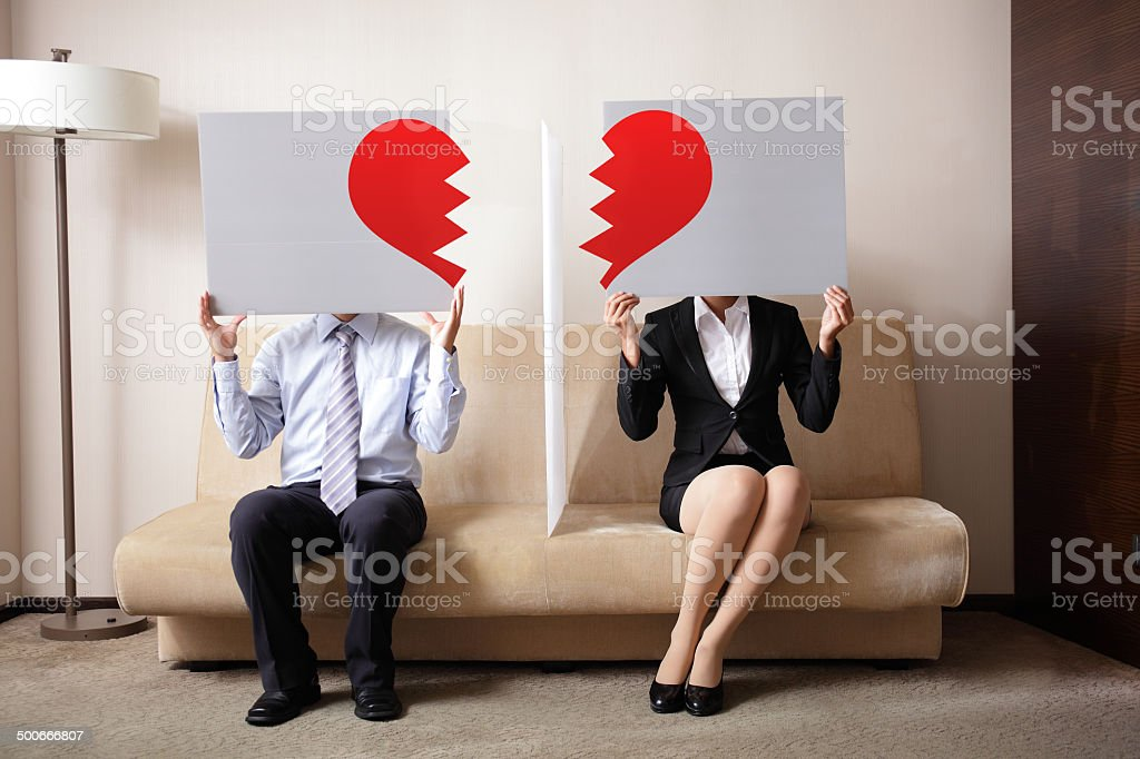 Divorce stock photo