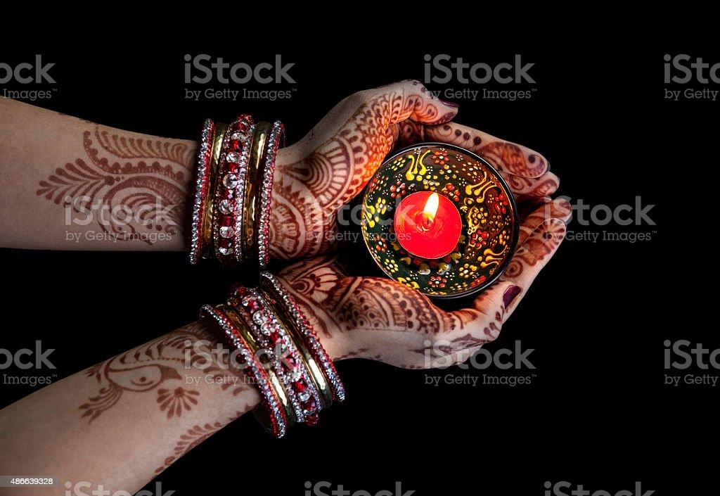 Diwali comemoração - foto de acervo