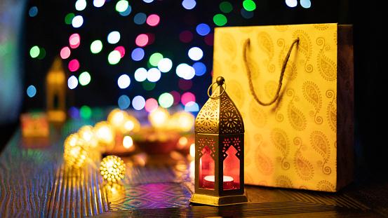 Diwali Decoration and Diya