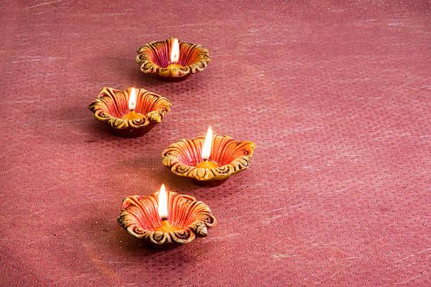 Diwali Decorations, Indian Festival stock photo