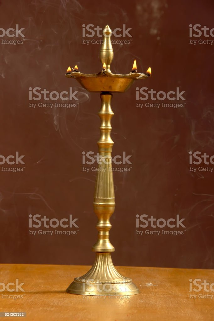 Diwali Lamp stock photo