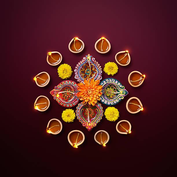 Diwali Oil Lamp – Foto