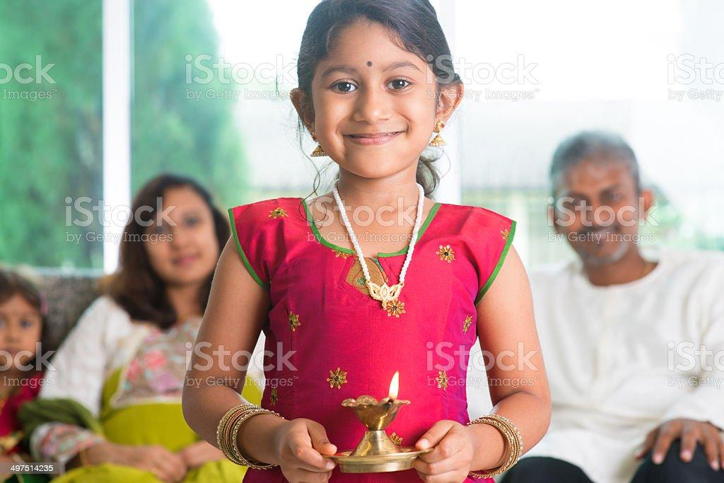 Diwali or deepawali stock photo