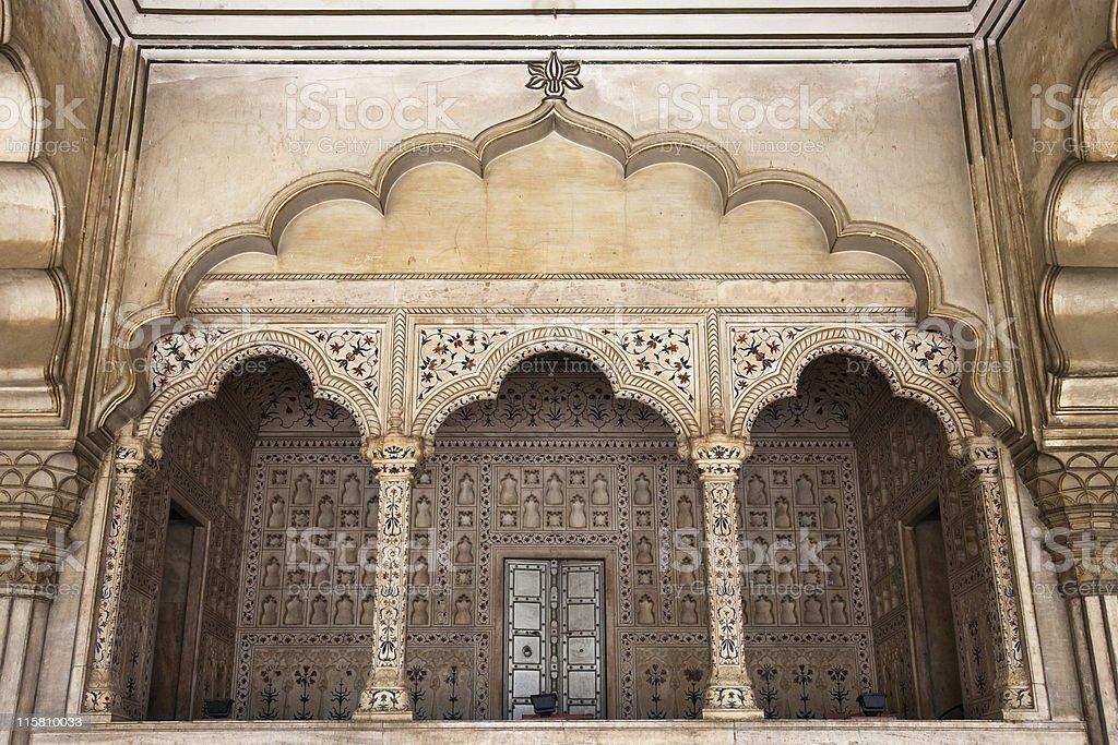 Diwan-i-Am Detail royalty-free stock photo