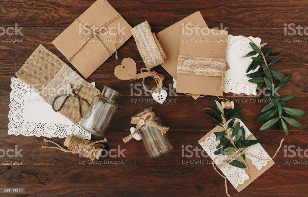 Diykreative Idee Handgemachte Karte Einladung Hochzeitseinladung