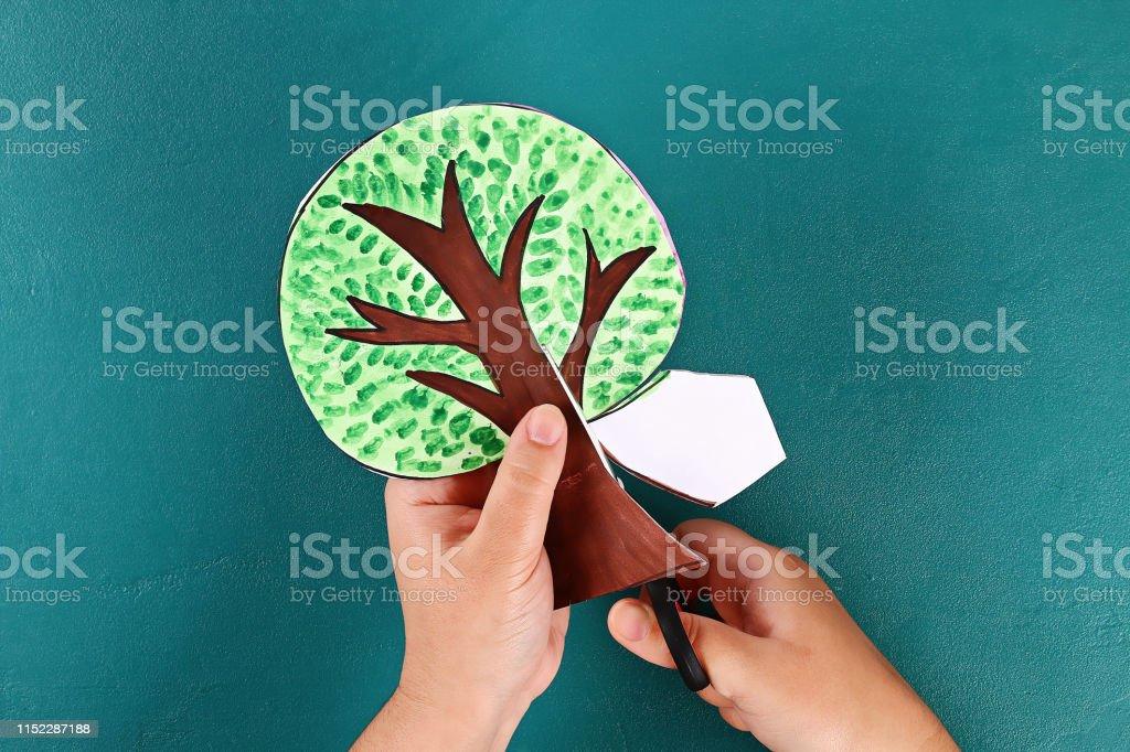 19 Diy paper tree four seasons summer, autumn, winter, spring. Tree 4...