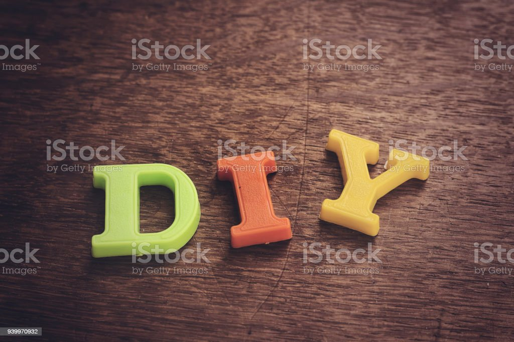 Diy plastic letters do it yourself concept stock photo more diy plastic letters do it yourself concept royalty free stock photo solutioingenieria Gallery