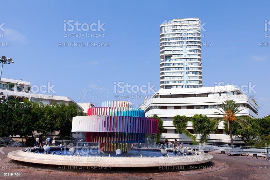 Dizengoff square situé au cœur de la ville de Tel Aviv - Photo