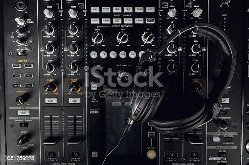 istock Dj equipment 1051759228