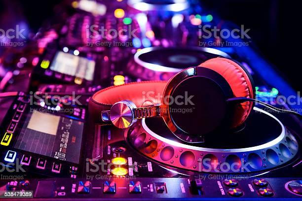 Dj mixer with headphones picture id538479389?b=1&k=6&m=538479389&s=612x612&h=v0bwue tbtxdtfflqo58tdjfg18q6d0x5go5 c5siwk=
