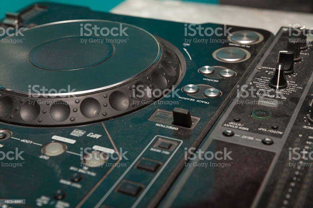 dj music control royalty-free stock photo