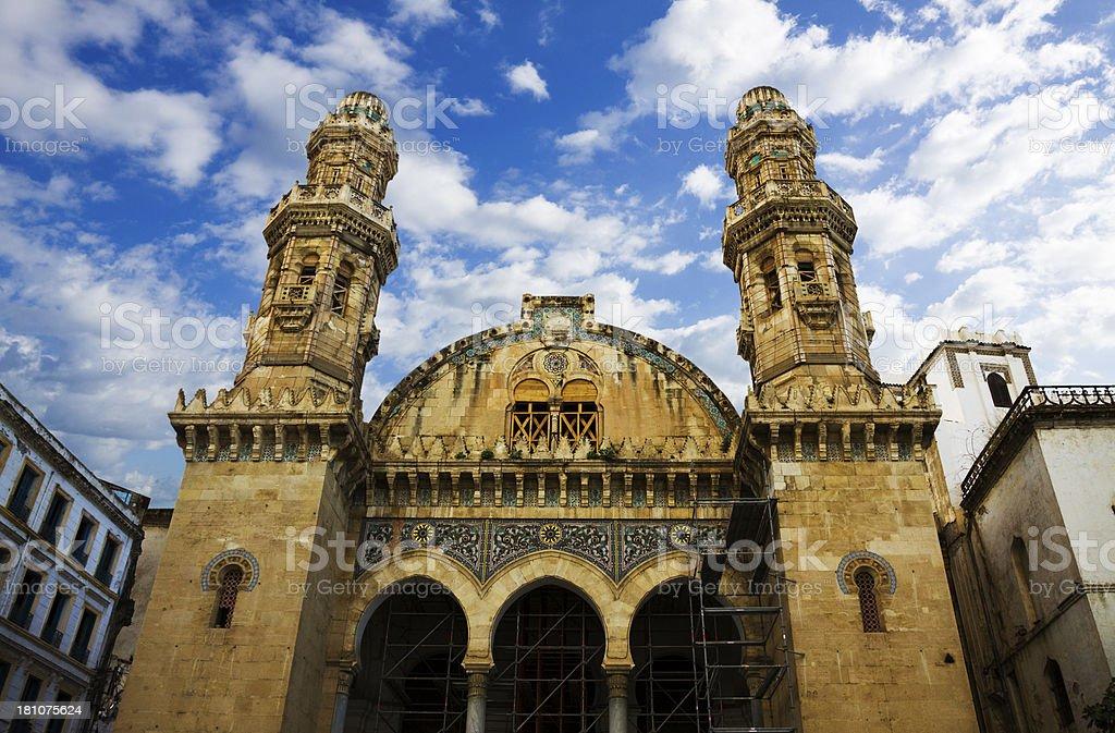 Djemaa Ketchoua mosque in Algiers stock photo