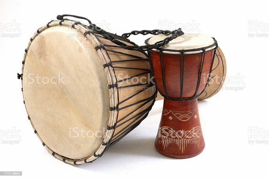 Djembe Drum Groove stock photo