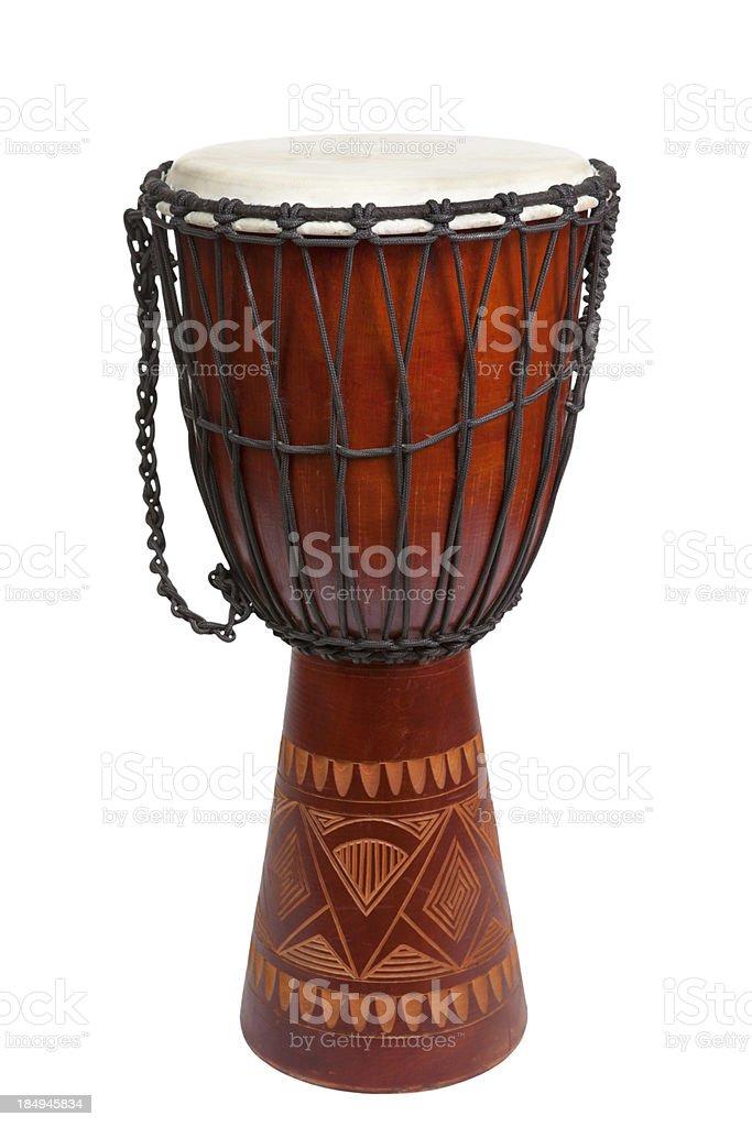 Djembe Trommel - Lizenzfrei Afrika Stock-Foto