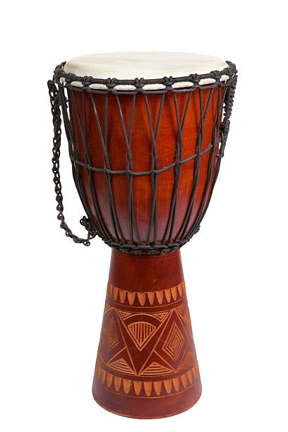 Djembe Drum stock photo