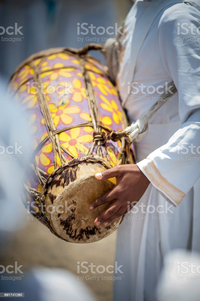 Djembe Drum Wedding stock photo