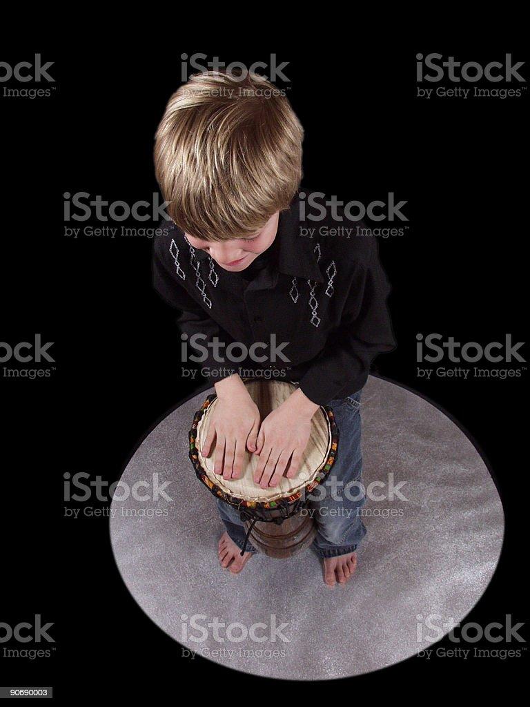 Djembe-drum stock photo