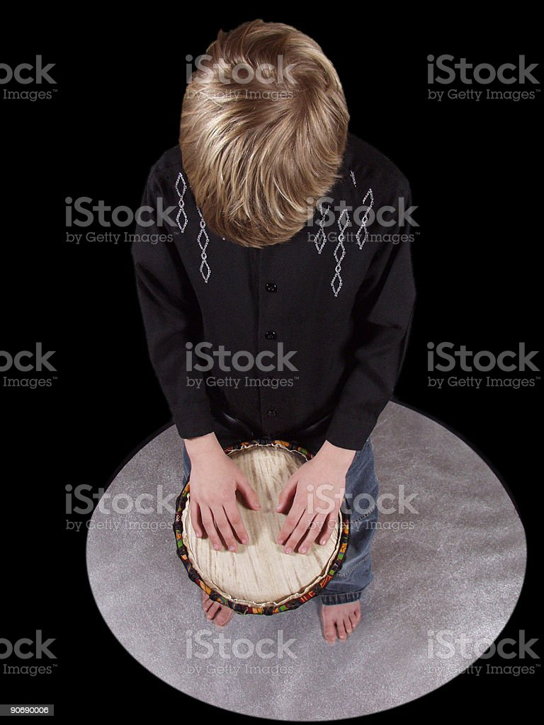 Djembe-Prayer royalty-free stock photo
