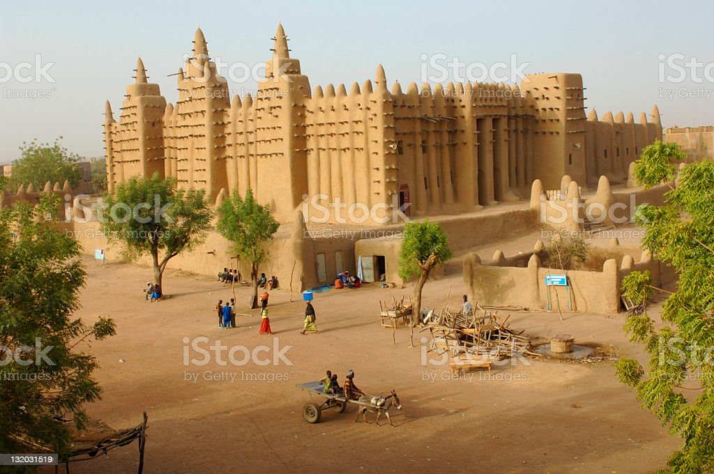 Djenné stock photo