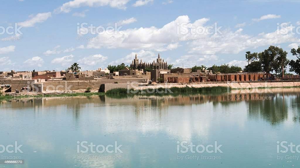 Djenne stock photo