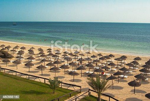 View on Djerba beach, Tunisia