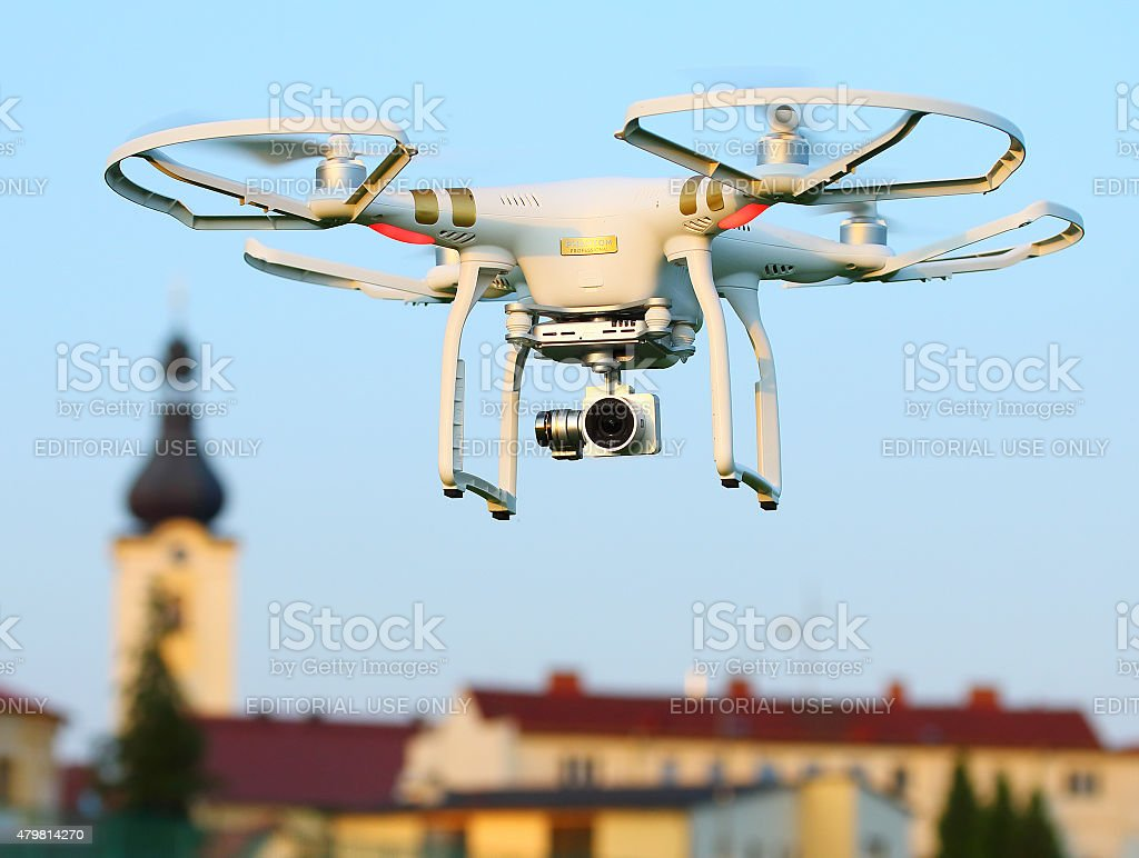 Dji Phantom 3 Professional. stock photo