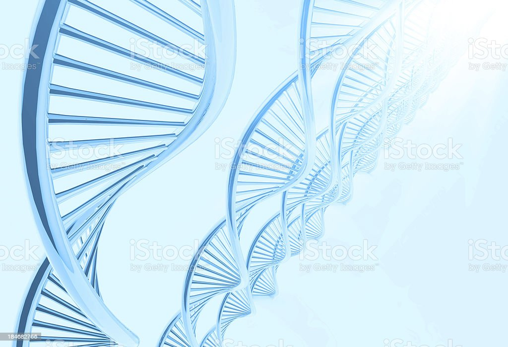 dna in medical  background royalty-free stock photo