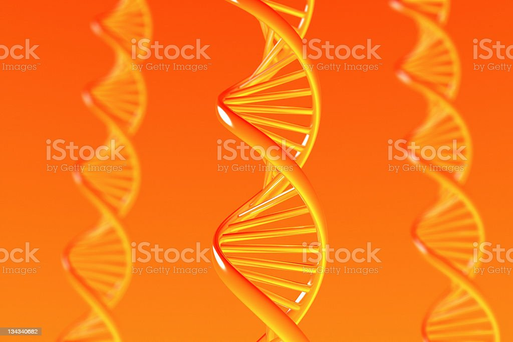 Dna royalty-free stock photo