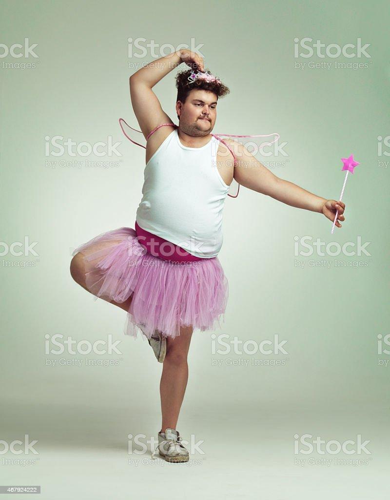 Hacer el ballet - foto de stock