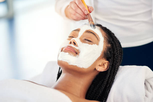 do it for your glow - chemical peel stock pictures, royalty-free photos & images