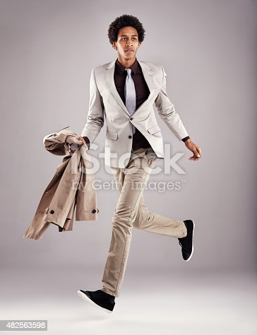 istock Do it with fashion or not at all 482563598