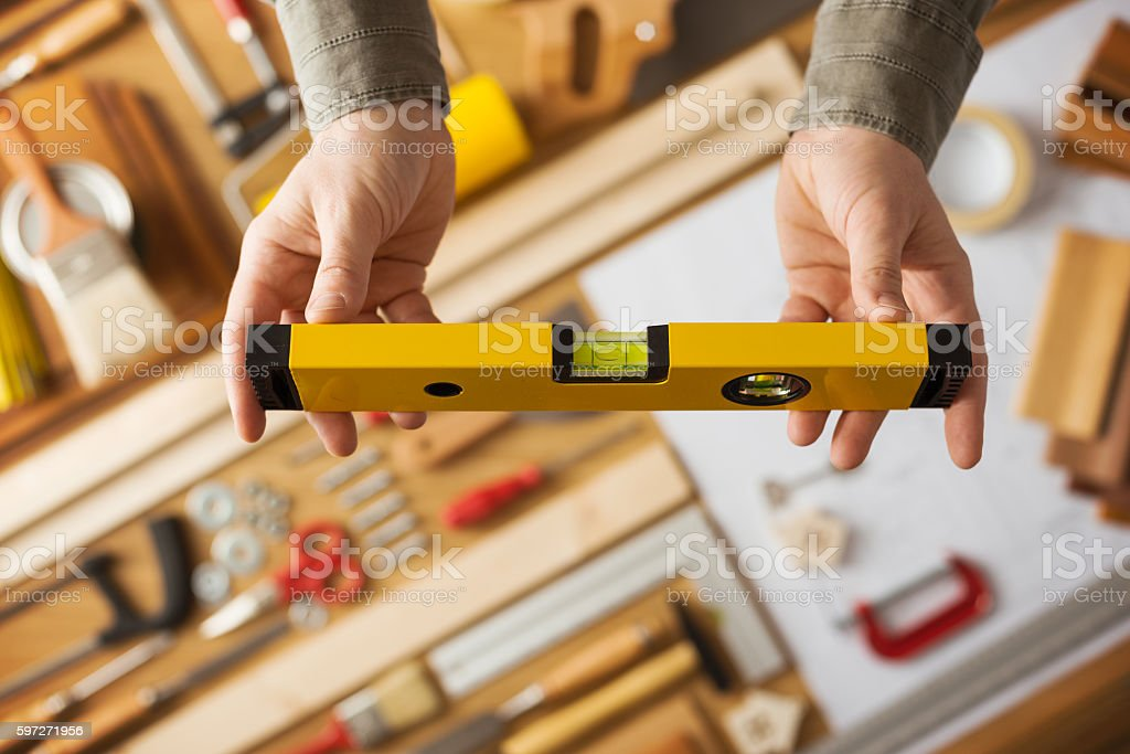 Do it yourself and home renovation tools photo libre de droits