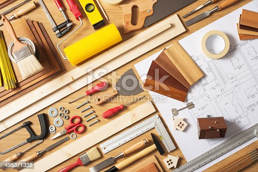 istock Do it yourself home improvement 498371338