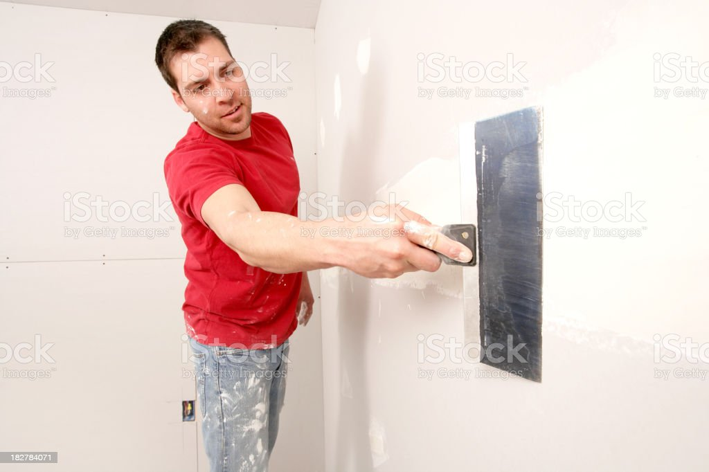 Do It Yourself Home Owner royalty-free stock photo