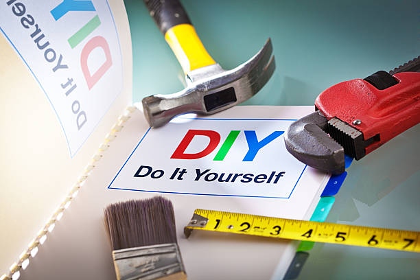 Royalty free do it yourself diy manual handbook instruction guide do it yourself diy manual handbook instruction guide and tools pictures images and stock photos solutioingenieria Gallery