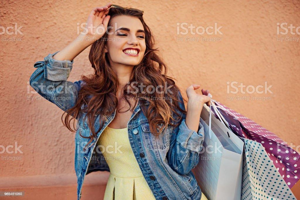 Do not disturb, shopping in progress zbiór zdjęć royalty-free