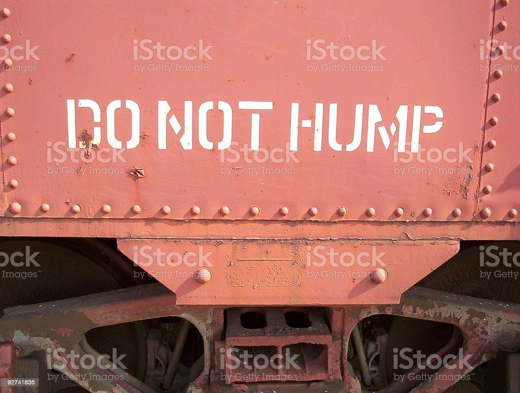 Nicht Hump Lizenzfreies stock-foto
