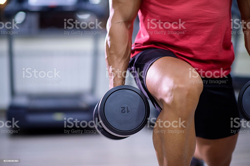 Do not skip leg day stock photo