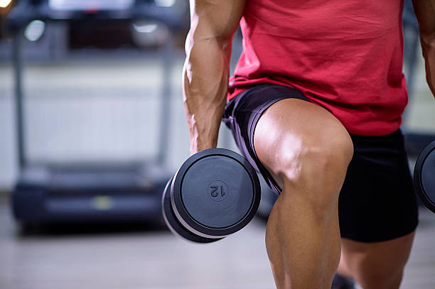 do not skip leg day - health club stock photos and pictures