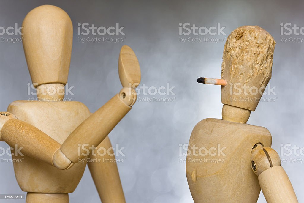 Do not smoke in here please stock photo