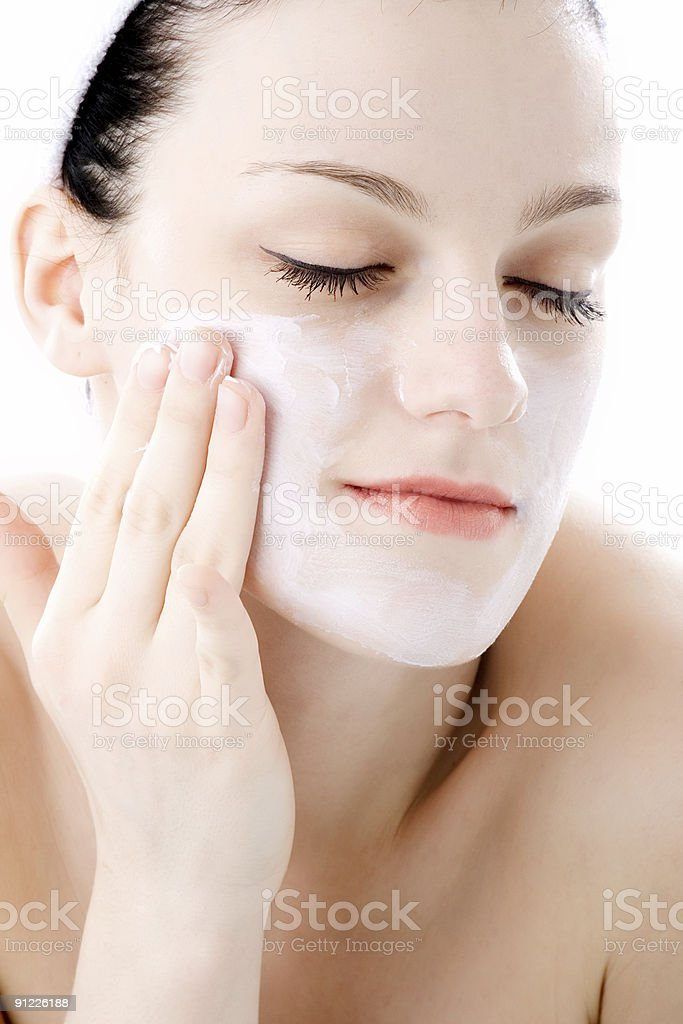 face care royalty-free stock photo