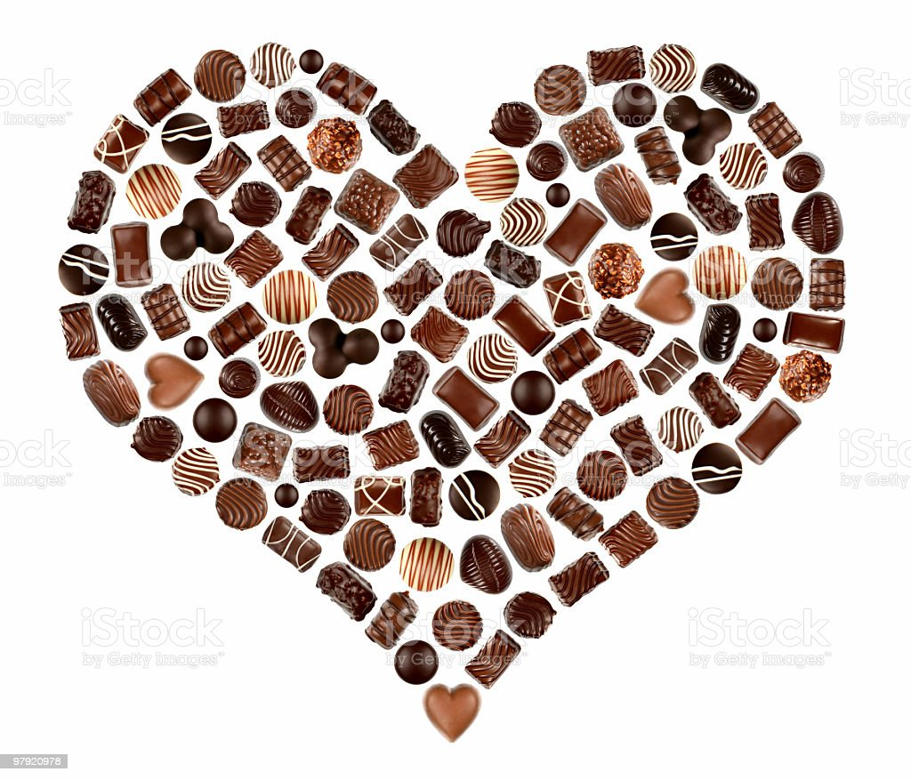 do you love chocolate? royalty-free stock photo