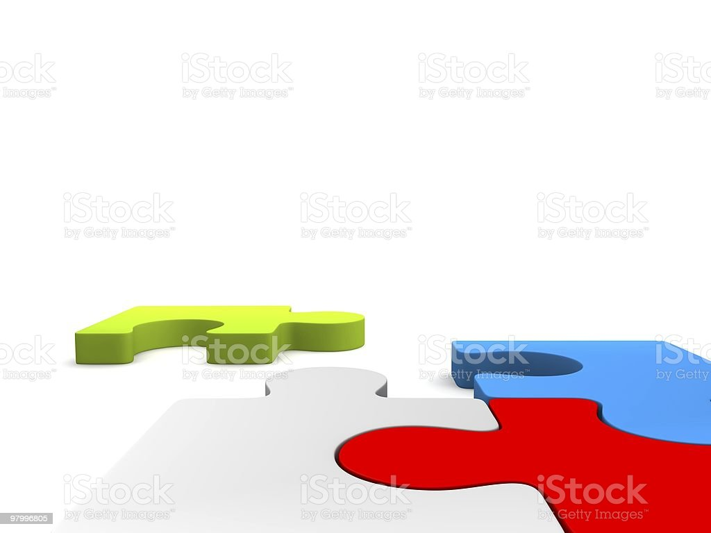 do you see the missing piece? royalty-free stock photo