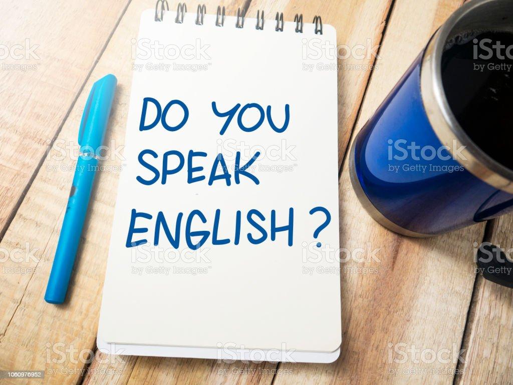 Habla Usted Inglés Motivacionales Palabras Citas Concepto