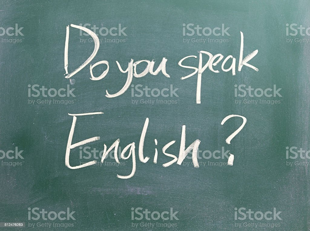 Sprechen Sie Englisch? – Foto