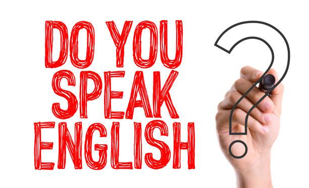 ¿habla español? - foto de stock