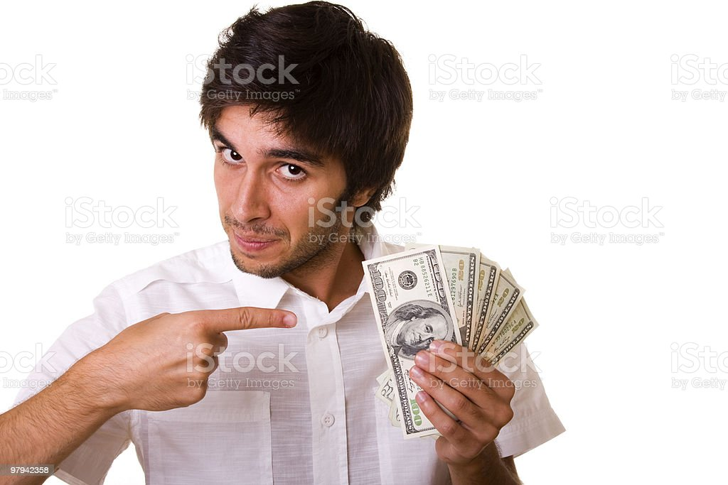 Do you want this money royalty-free stock photo